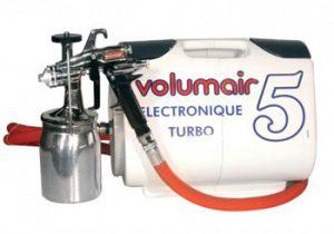 Pulvérisateur peinture basse pression Volumair Turbo 5