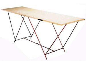 Table à tapisser bois Theard